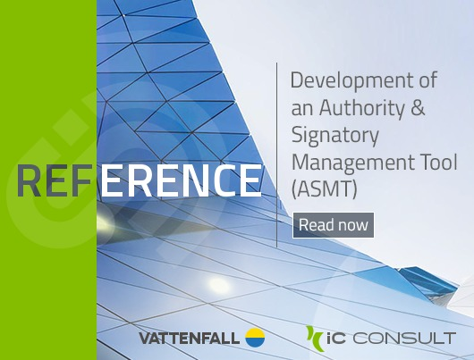 Reference: Vattenfall - Developing an International Authority & Signatory management Tool